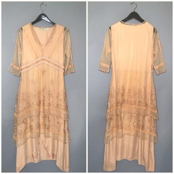 Nataya Dresses & Skirts - Nataya Downton Abbey / Titanic Style Lace Dress